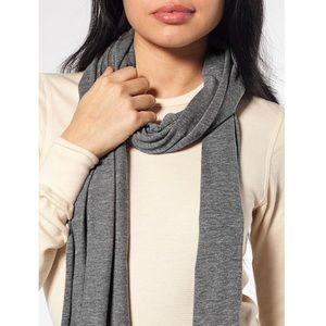 NEW American Apparel Tri-Blend Scarf Athletic Grey